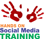 Hands on Social Media Training Logo