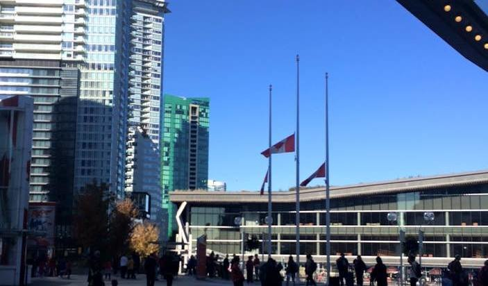 What should you post on Remembrance Day in Canada